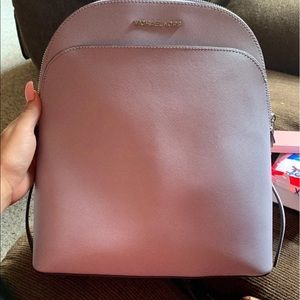 Light purple medium size Micheal kors bookbag